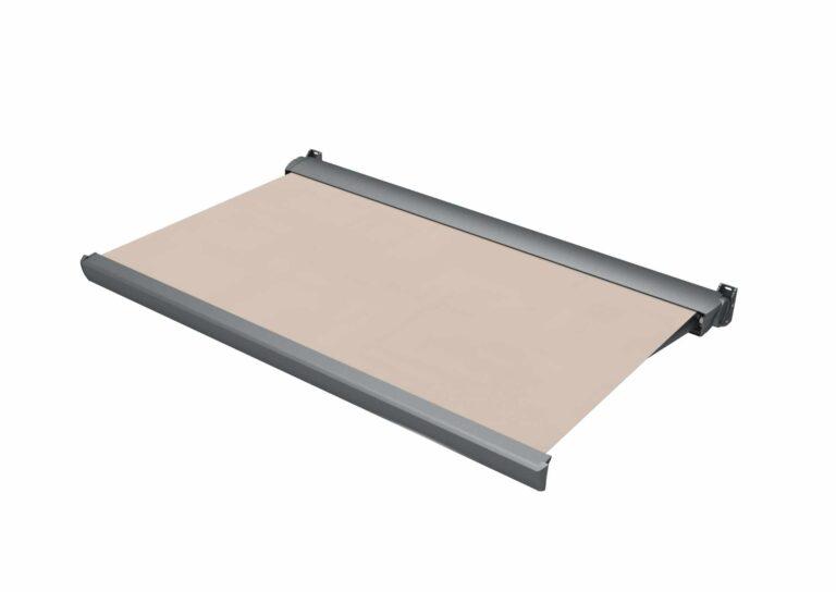 Portail battant en aluminium FLORES Personnalisez votre store FLORES à partir de milliers de choix de couleurs et de motifs.