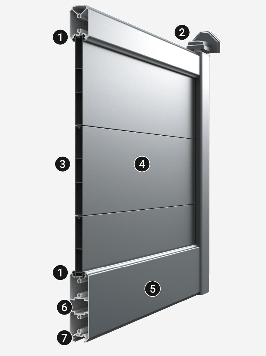 CEBEL conception de portail aluminium