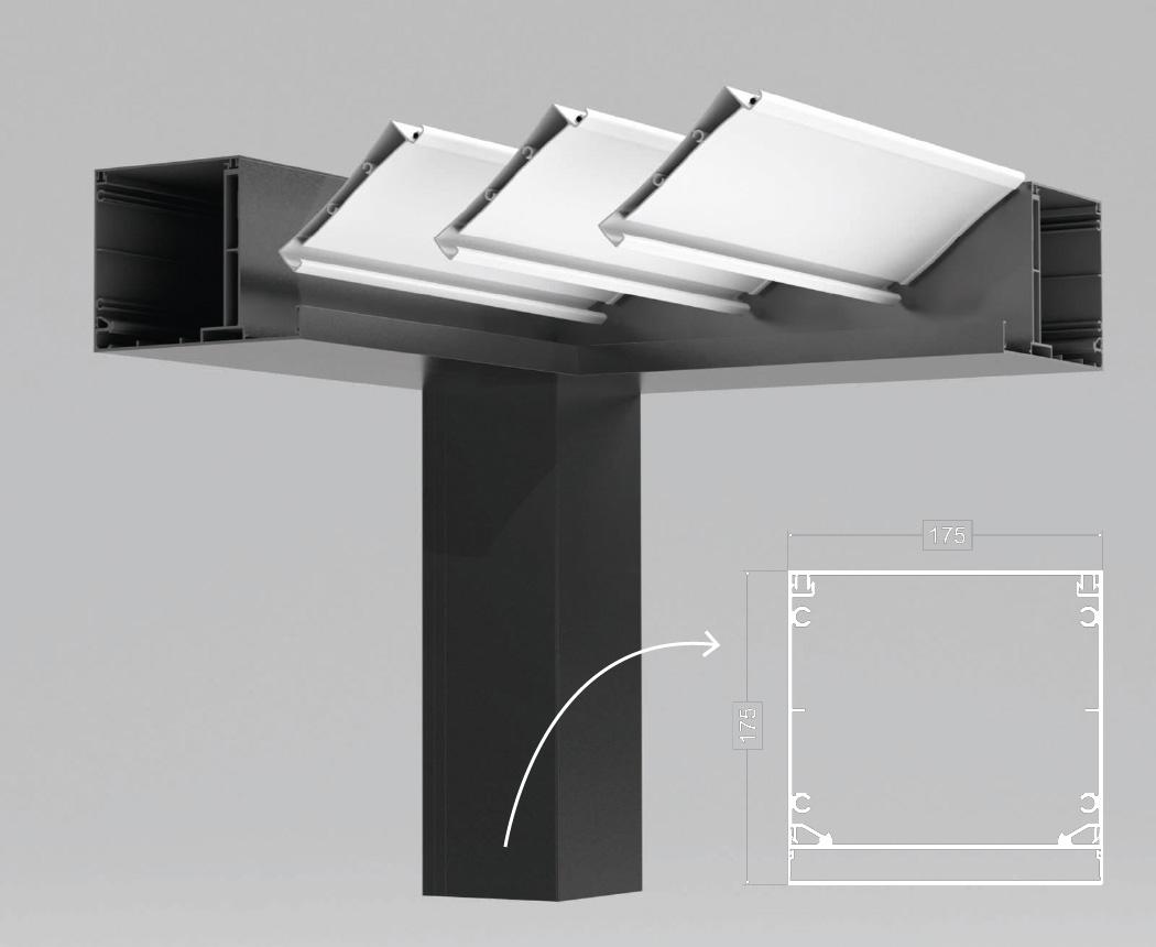Conception de pergolas en aluminium